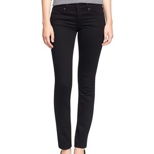 Tory Burch Super Skinny Black Jeans
